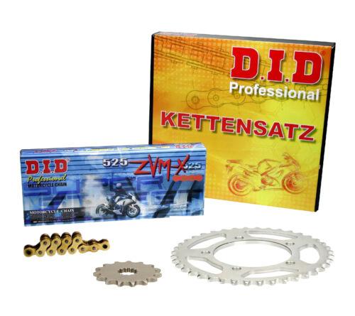 ZRT00D ZRT00F DID Super X-Ring gold Kettenkit Kawasaki Z 1000 10-13