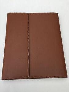 Filofax-A5-flex-Ipad-case-Natural-leather-tan