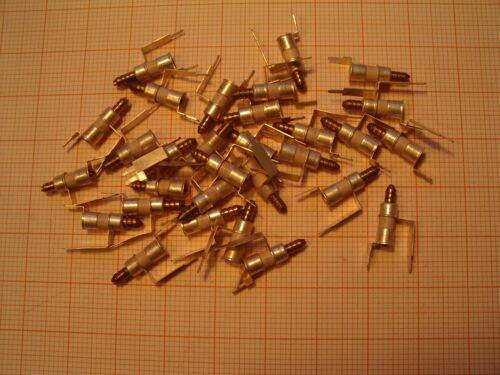 3,8pF Trimmkondensator Rohrtrimmer stehend Philips Valvo 100x C-Trimmer 0,8pF