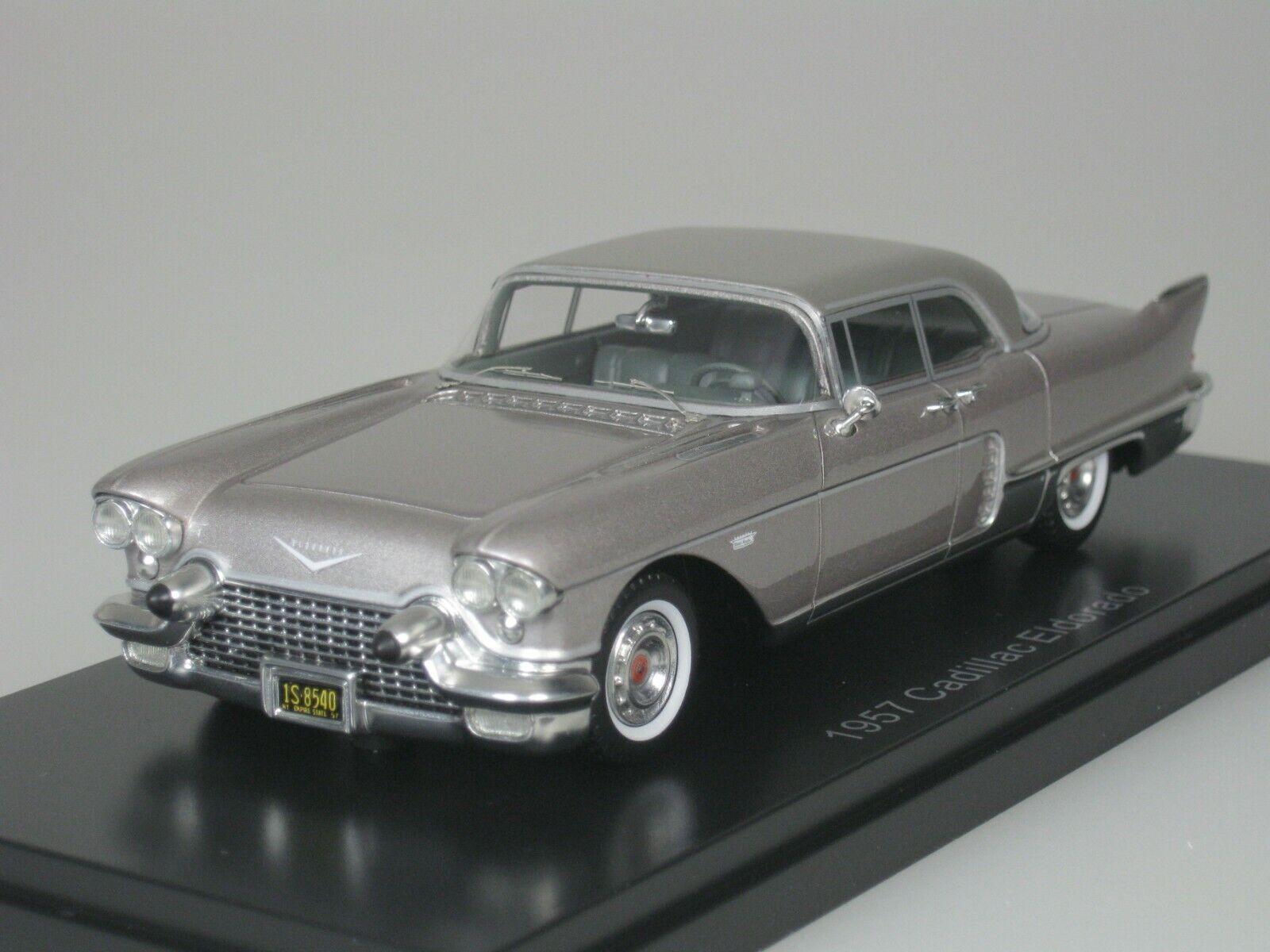 Cadillac Eldorado Brougham 1957 Beige Metálico Aluminio 1 43 Neo 46985 Nuevo