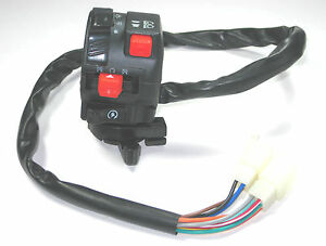 chinese atv mini quad left side control switch 50cc 70cdc Chinese 110Cc ATV Wiring Diagram