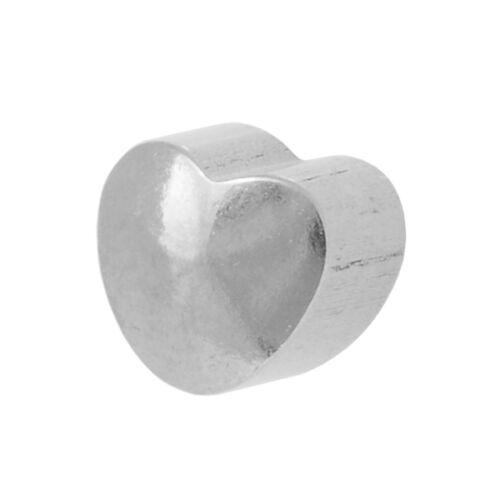 STUDEX Liso En Forma De Acero Inoxidable Perforación del Oído Stud Pendientes 4mm Corazón O Estrella