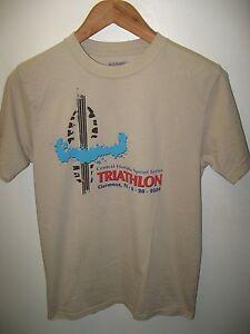 Details about Central Florida Triathlon Tee - 2009 Clermont FL Sprint  Series Athlete T Shirt S