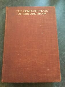 The-Complete-Plays-of-Bernard-Shaw-hardback-1931-first-edition