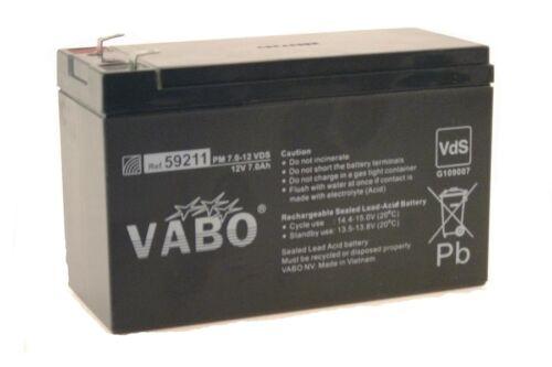 Max,République de Corée Moteur Karting Batterie Vabo Pm 12 V 7 Ah SLA pour Kf