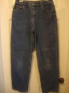 Women-039-s-LIZ-CLAIBORNE-straight-leg-jeans-8-R
