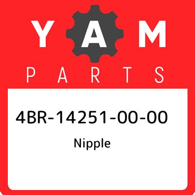New Genuine OEM Part 4BR-14251-00-00 Yamaha Nipple 4BR142510000
