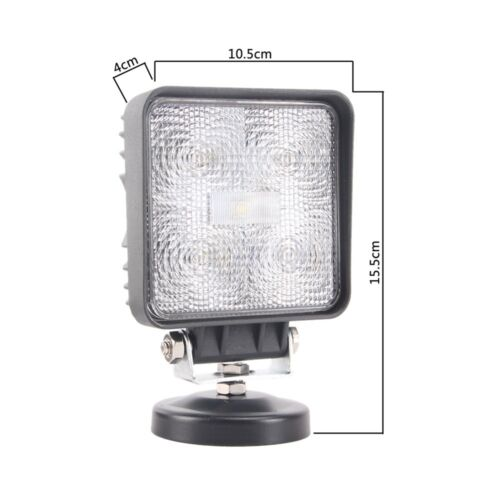 """1X 4/"""" 15W Led Search Light Flood Work Light Magnetic Base For Hummer Jeep SUV"""