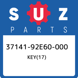 37141-92E60-000-Suzuki-Key-17-3714192E60000-New-Genuine-OEM-Part