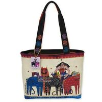 Eta & Friends  NWT - Medium Tote  Laurel Burch  LB5483