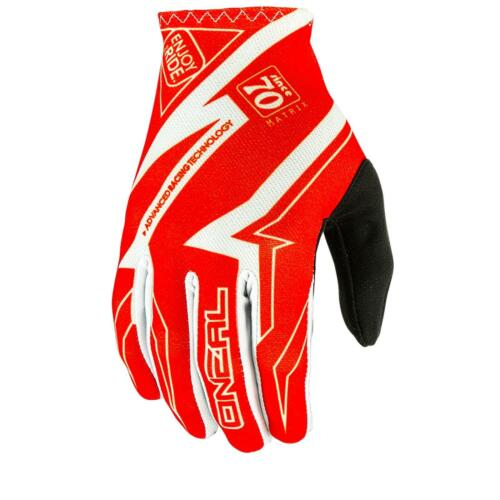 ONeal Matrix MX Handschuhe RACEWEAR Rot Moto Cross Enduro Motorrad Downhill MTB