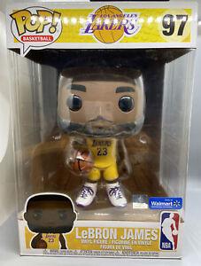 Details about Funko POP NBA Lakers LeBron James Yellow Jersey 10-Inch Vinyl Figure #97