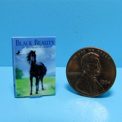 Dollhouse Miniature Replica of Book Black Beauty ~ B017