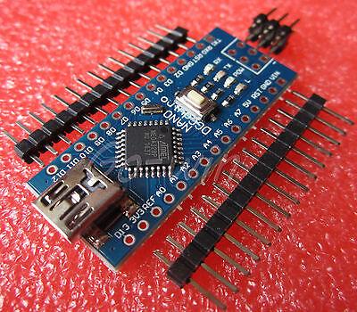 2PCS MINI USB Nano V3.0 ATmega328P CH340G 5V 16M Micro-controller board M47