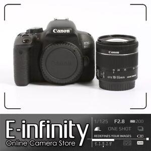 NUEVO Canon EOS 800D Digital SLR Camera + EF-S 18-55mm f/4-5.6 IS STM Lens Kit