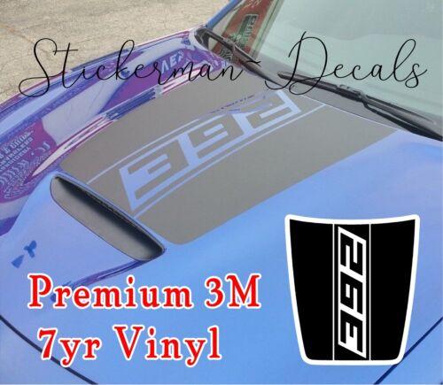 Custom 392 Hood Decal Fits Dodge Charger 2015-2020