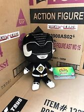 Mighty Morphin' Power Rangers Black Ranger 8-Inch Plush by Funko