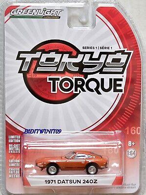 2017 GreenLight Series 1 Tokyo Torque 1971 Datsun 240 Z Combine Shipping