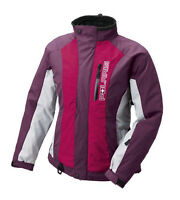Polaris Women's 3 In 1 Throttle Insulated Snowmobile Jacket With Liner Purple