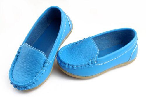 2017 Chaussures Enfants Garçons Filles Enfants Bateau Chaussures Flats Slip-On Mocassins Chaussures