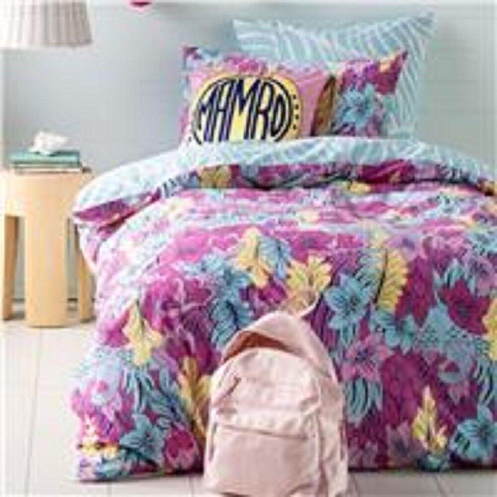 Mambo - Tropical Sunset - Queen Bed Quilt Doona Duvet Cover Set