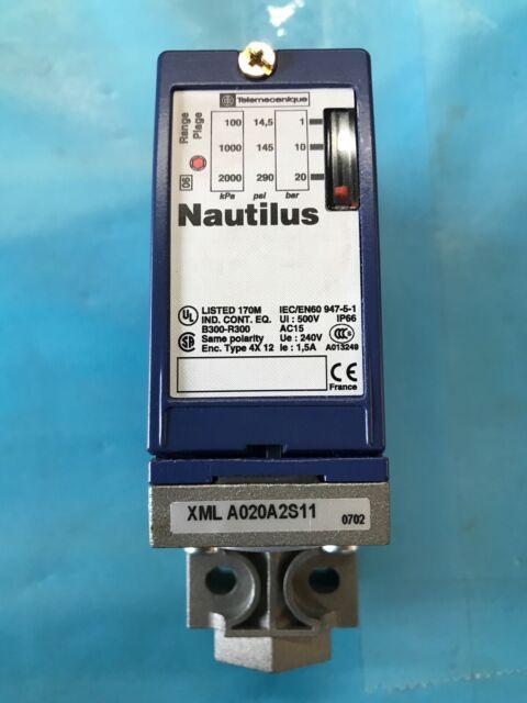 Pressure switch 071169 XML-A020A2S11 Telemecanique 20bar XMLA020A2S11