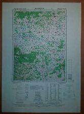1948 US Army Maps Bulgaria 12 Sheets  AMS M506 GSGS 4412