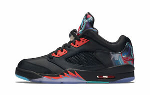 d72bf357116907 Nike Air Jordan 5 Retro Low Size 14 Chinese Year Black Crimson 840475 060