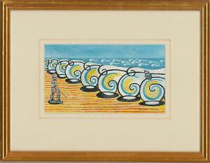 Edward-Morgan-1933-2009-20th-Century-Gouache-Rolling-Waves