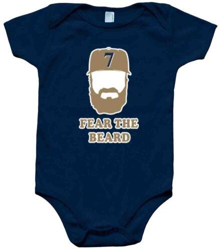 """Eric Thames Milwaukee Brewers /""""BEARD/"""" jersey T-shirt Shirt or Long Sleeve"""