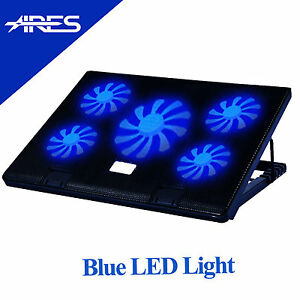 ARES 5 Fans Notebook Cooler Cooling Pad Stand For 17034 Laptop From UK - Swindon, United Kingdom - 1. Please contact us before you return the item. After Receiving your message, we will confirm and send you the return address. 2. Please return your item in new condition with original packaging and accessories, and remember to  - Swindon, United Kingdom