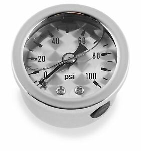 Bikers Choice - ET00100 - Marshall Liquid Filled Shock Proof Gauge~