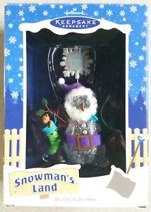 Snowman-039-s-Land-034-Snow-Ho-Ho-034-Hallmark-Keepsake-Ornament-2003