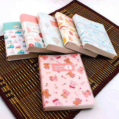 Cute Retro Sweet Cartoon Blank Page Diary Jounal Note Book Memo Cover NEW A0075