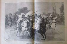 JOURNAL DES VOYAGES N° 874 de 1894 AFRIQUE FANTASIA MISSION MIZON / JEAN COUSIN