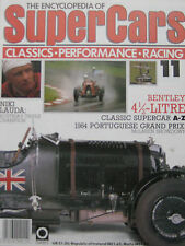 SUPERCARS magazine Issue 11 Featuring Bentley 4 1/2-litre cutaway, Niky Lauda