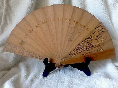 Antique 1909 Hungarian German Saxon theatre fan Funny Cartoon Animal Hand Drawn