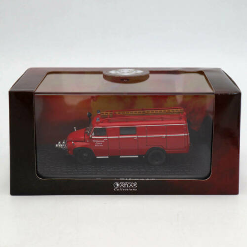 Atlas 1//72 Ford FK 2500 Fire Engine Diecast Toys Car Models Collection Red