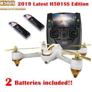 Hubsan H501S SPY Quadcopter 5.8G FPV RC Drone Auto Return...
