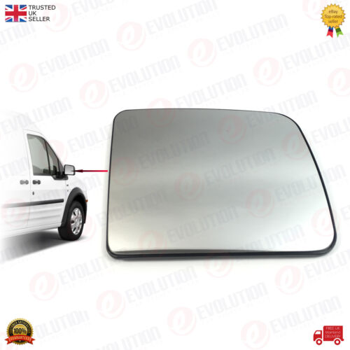 RIGHT WING MIRROR HEATED GLASS FOR TRANSIT CONNECT 2010-2013 4973824 OFFSIDE