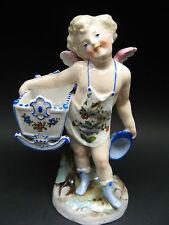 Antique German Conta & Boehme Cherub Putti Figurine Vase