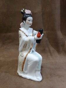 Geisha girl figurine