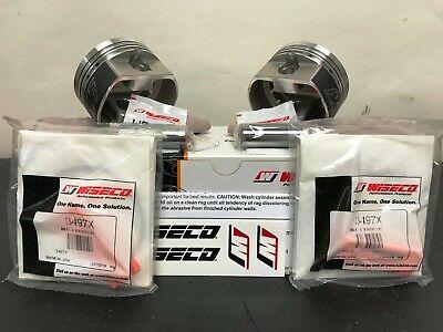 - Standard Bore 3.498in. 9.5:1 Compression 4718PS 73ci., Reverse Dome Wiseco Piston Kit