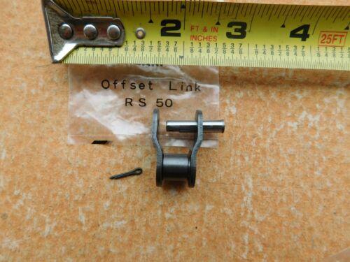 Chaîne 1//2 Lien Harley 50//530 Chaîne Réparation ou étendre machine shop//Moto