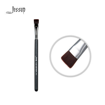 Jessup High Quality Materials Pro Eye Makeup brushes set Flat Definer Brush 212