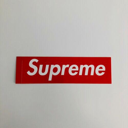 Supreme Red Box Logo Stickers 100/% Authentic
