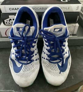 NIKE-Air-Max-2016-running-athletic-sneakers-shoes-size-8-Blue-and-White