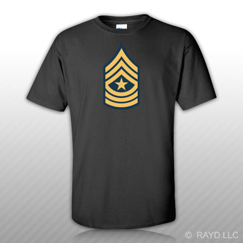 SALE Insignia Sergeant Major Of The Army Eagle 2 Stars Honor Respect T-shirt