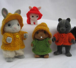 Knitting-Pattern-Collectors-clothes-RUSTIC-Sylvanian-Families-Calico-Critters