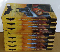 8 Boxes Of Batman Begins Valentines W Tattoos/15x19 Poster Dc/wb Warner Brothers
